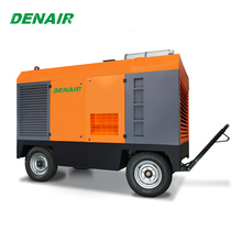 530 cfm large capacity portable air compressor for sand blasting