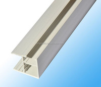 pvc extrusion profile,L style, white color 191(processing according to buyer's samples or drawings))