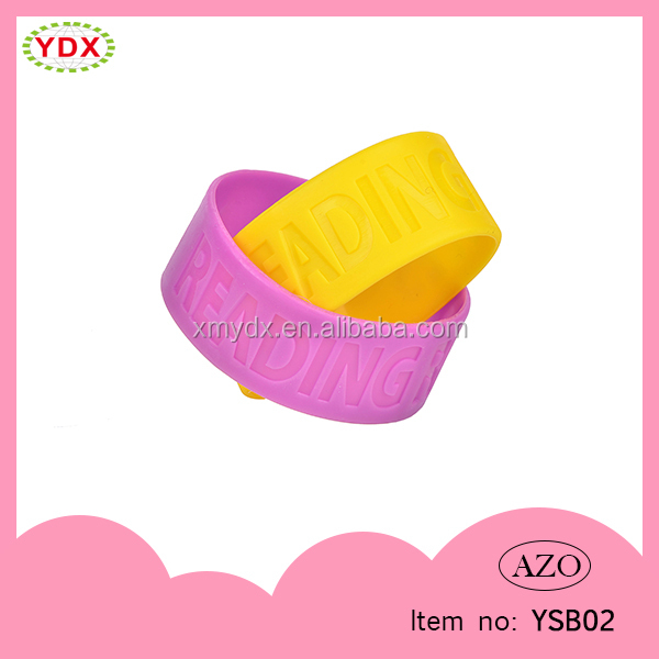 Custom Cheap friendly silicone bracelet custom cheap wristband