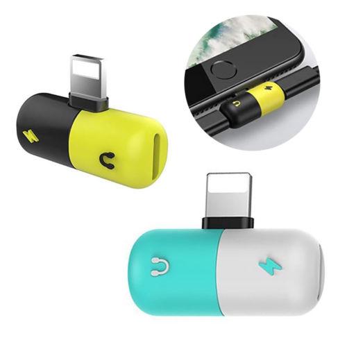 2 en 1 en forme de capsule universel adaptateur de répartiteur pour iPhone 7 - ANKUX Tech Co., Ltd