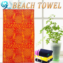 2016 100% cotton reactive printed custom made essential home Beach towel