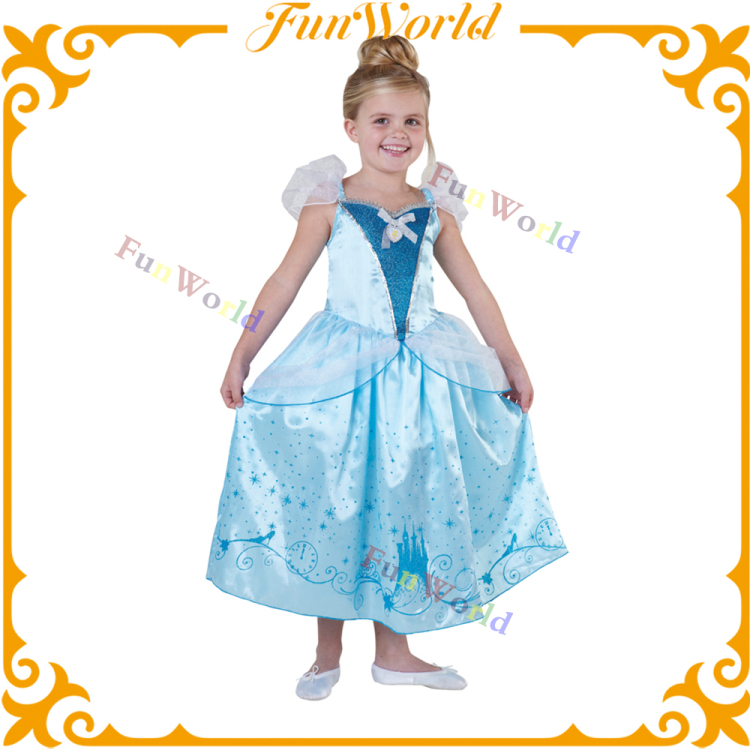 Customized style for kids maid costume