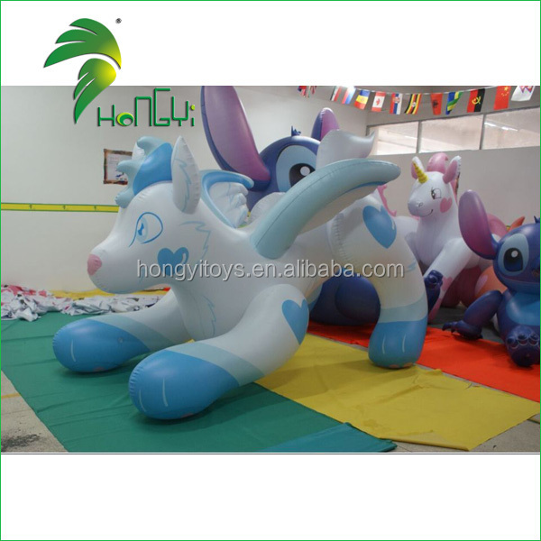 Hongyi factory new design inflatable wolf