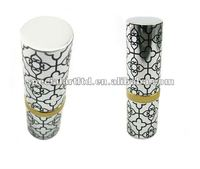 custom metal empty cosmetic lipstick case,designed by (C) charis, OEM service,passed SGS factory audit
