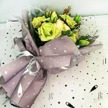 For your weding gift flower plastic wrap custom gift wrap paper manufacturer