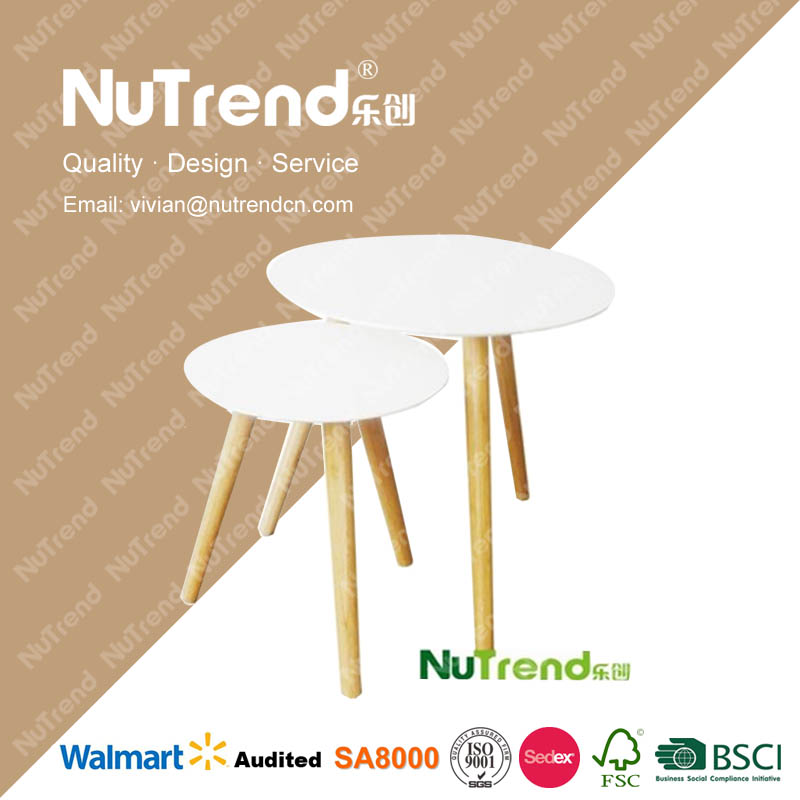 standing high quality lacquer end tables