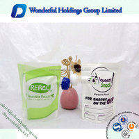 BPA Free Reusable Pouch Stand up Plastic Bag Water Drink Packets 1kg Mini Spout Pouch