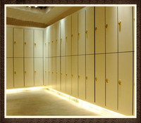 Electric HPL Board Storage Locker for Bathroom/Gym/Supermarket