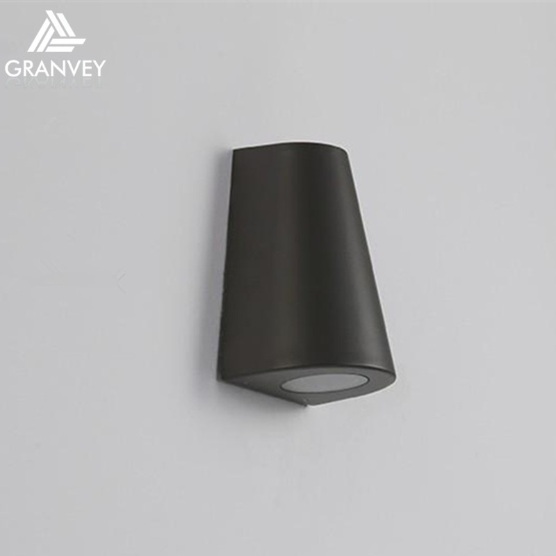 led lights modern exterior up and down cob wall light mounted surface warm lighting