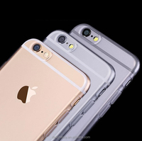 1.0mm no joint line case FOR IPHONE 6 6S 4.7 INCH soft case clear TPU cell phone case