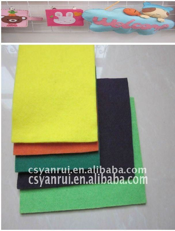 Felt for decoration