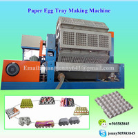 0086-15153504975 paper egg tray making machine from China