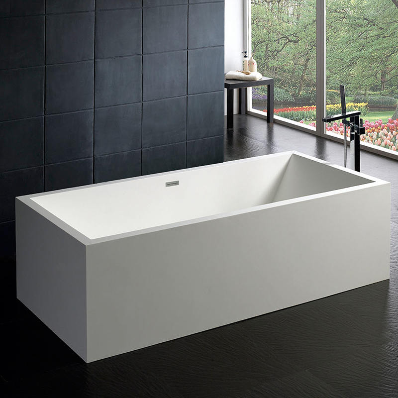 europe latest design stone resin tubs,standard bath tub size 1900mm