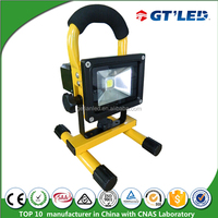 IP65 Waterproof outdoor led rechargeable floodlight, garden light with battery powered