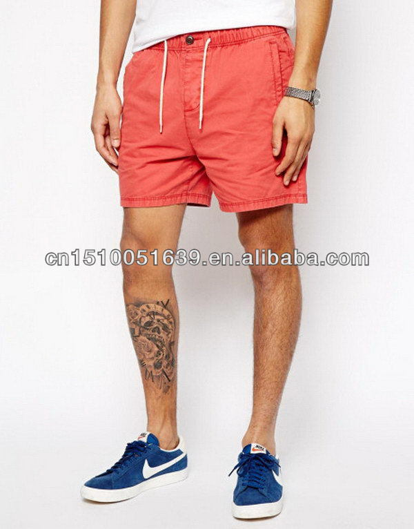 Stock clearance sale man's casual shorts with mesh inner