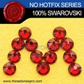 Specialized Swarovski Elements Red Magma (REDM) 20ss Flat Back Crystal Rhinestone