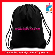 Nylon Drawstring Waterproof Beach Clinch Backpack Tote Bag