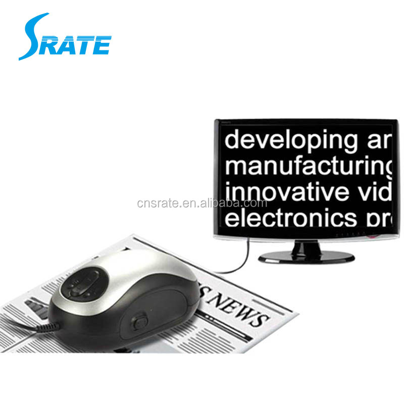 UM028D USB Wireless Mouse Computer Accessories Electronic Reading Aid Magnifier