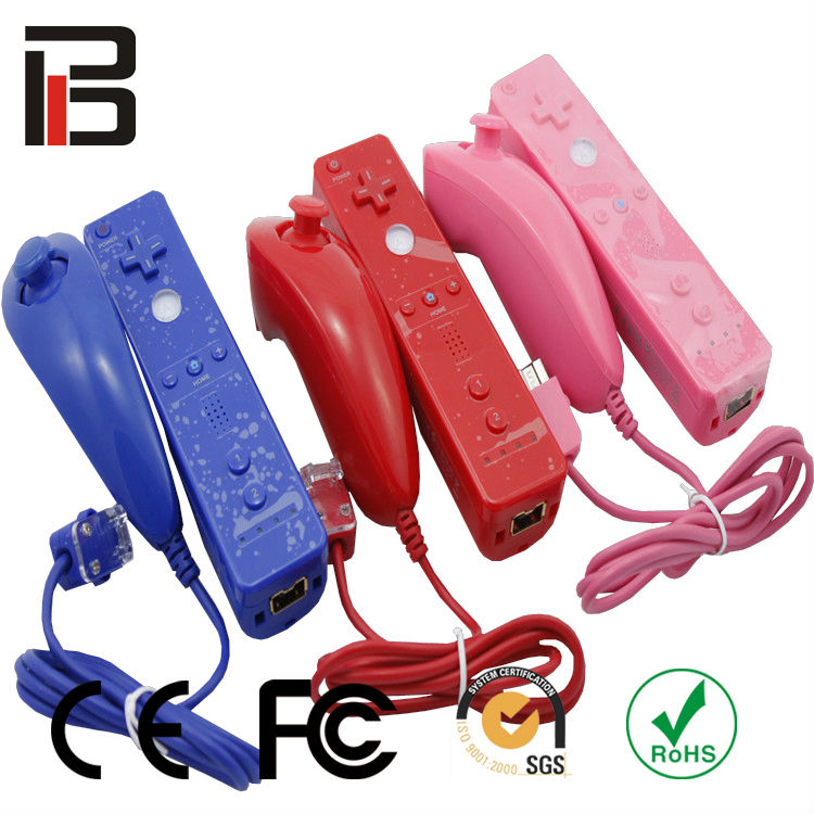 FCC CE for wii remote and nunchuk controller