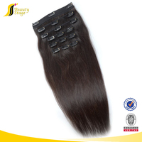 full head clip in hair extensions free sample, virgin brazilian remy clip-in hair extensions,clip in hair extensions free sample