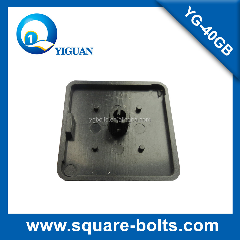decorative end cap for 40 series of aluminum extrusion end connection