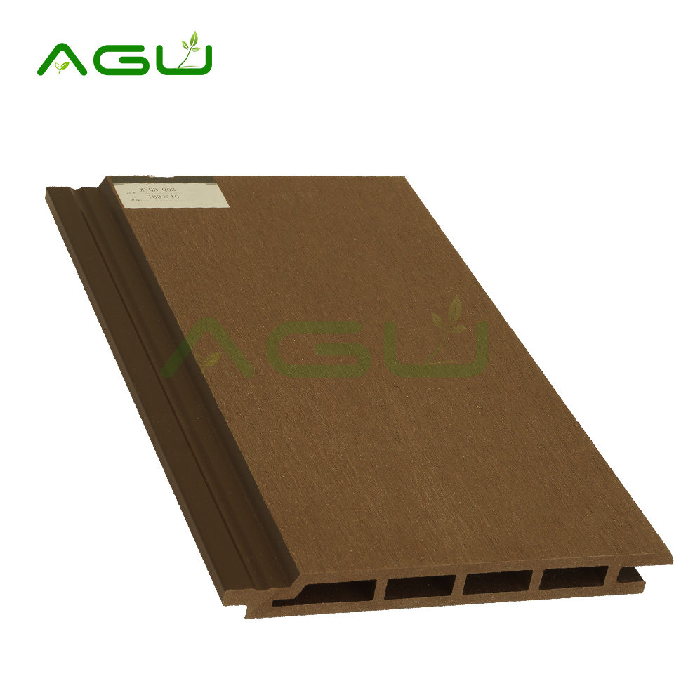 Outdoor waterproof wood plastic composite wall panel wpc wall panel tiles for sale