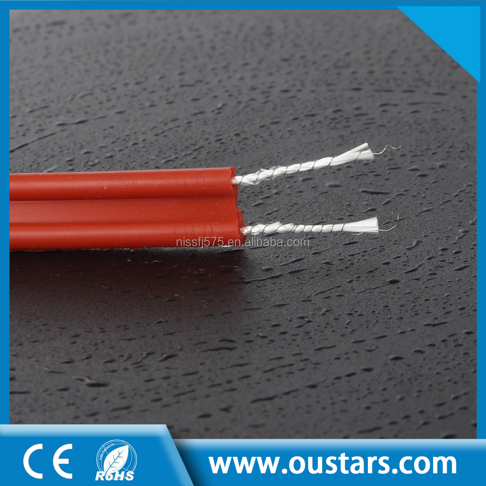Silicon insulated pipe electric heating wire