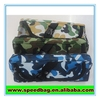 Blue navy color camouflage pencil case pencil case with compartments