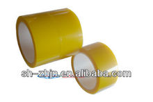 Yellow PET film silicone adhesive Splice Tape/self adhesive silicone tape
