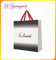 2016 Wholesale High Quality Paper Shopping Bag Brand Name