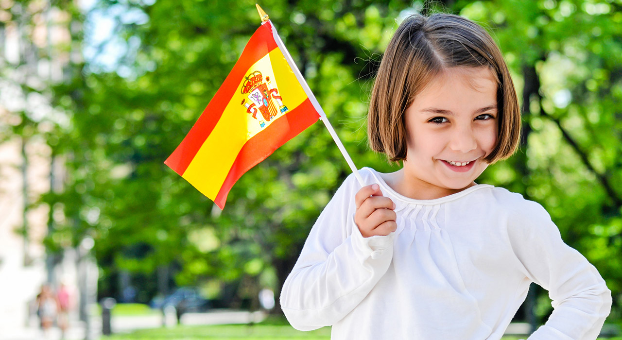 2018 Russia World Cup Spanish football fan Small Hand Waving Flag for Spain