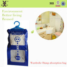Household Dehumidification Bag Moisture Proof Damp Remover Mould Mildew Prevention Wet Gone Air Freshener