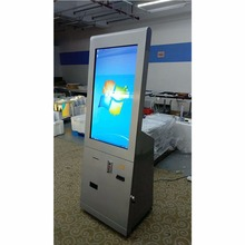 Fast Food Ordering Self-service Payment Kiosk Machine with Cash Recycler Card Reader