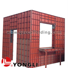 Q235 steel plate New Modular Building Concrete Column Steel Formwork System