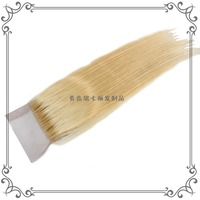 Top quality and best export,discount wholesale Silky Straight human hair 4x4 top lace closure