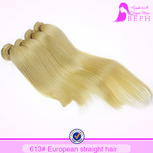 100 human hair bangs 613 blonde hair weave fusion extension ombre color hair extensions