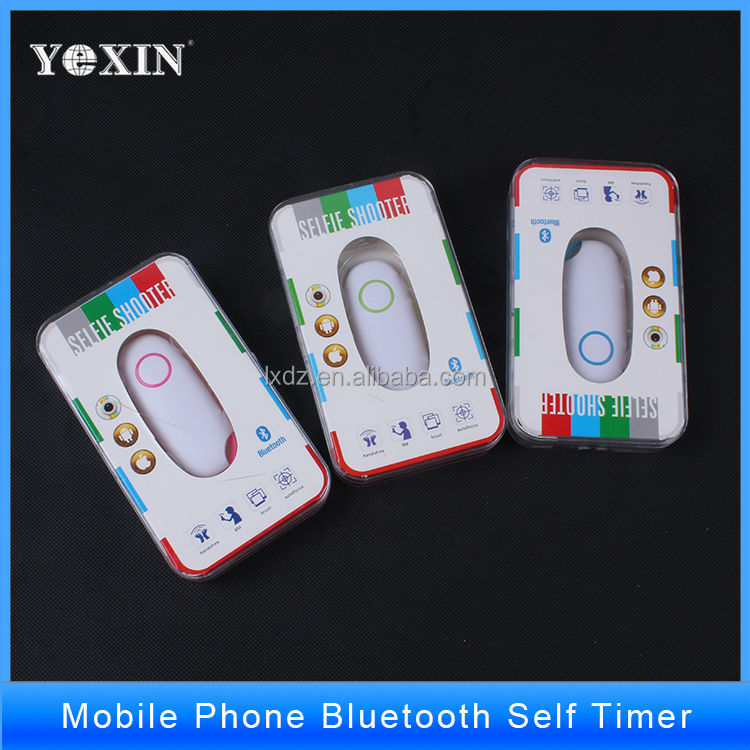 2016 new and best sell bluetooth remote control shutter for iphone and android system AB shutter 3