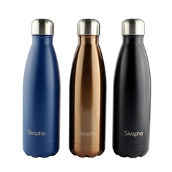 Amazon Printed Stainless Steel Double Sided Vacuum Water Bottle 500ML