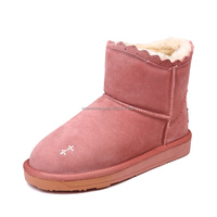 Durable turkish embroidery women boots for girls