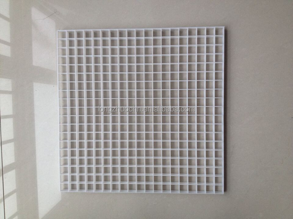 plastic mesh grill air diffuser polystyrene egg crate sheets light diffuser uk l