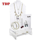 Luxurious Makeup Display Drawers Earring Hangers Necklace Body Stand Acrylic Jewelry Organizer