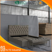 king size/queen size modern metal furniture modern luxury princess canopy bed