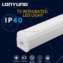 Fluorescent Replacement meeting rooms IP40 t5 bracket integrated led tube light