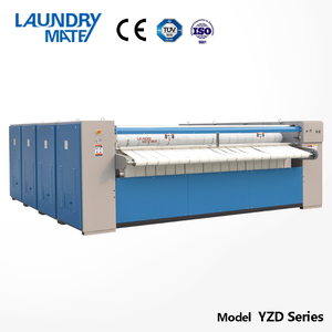 Commercial laundry steam iron press/industrial ironing machine for sale