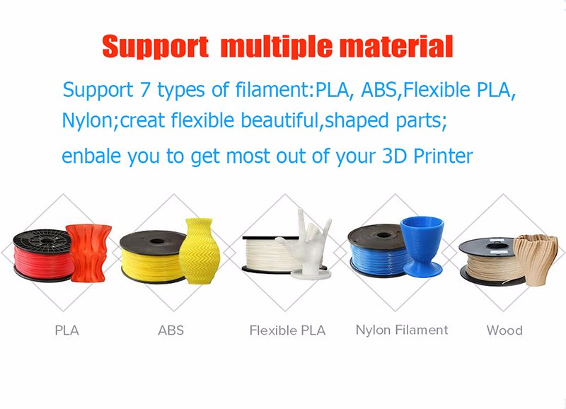 Tevo Black Widow DIY 3D Printer Kit ,multi color printer 3d Desktop 3D Printer Parts in China Zhanjiang
