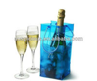 Dust proof pvc wine bag with ice cube