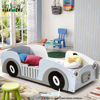 Baby furniture boy bed racing car bed MDF children bedroom furniture