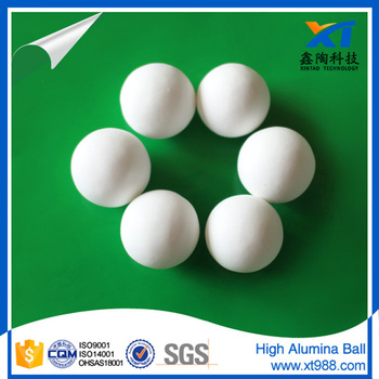 XINTAO 3/4 inch 99% high alumina ball creamic ball from Jiangxi