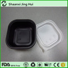 Bio-degradable Feature plastic disposable food container/bento box/lunch box promotion