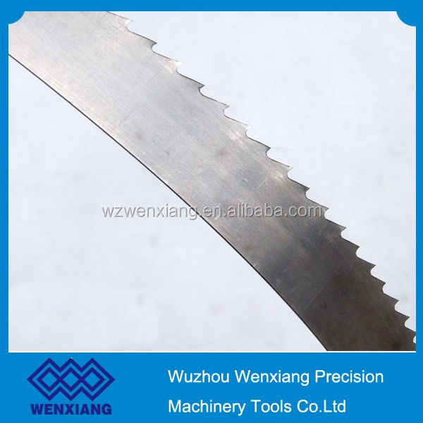 "Hot selling timber cutting band saw blade 111"" x 3/4"" x 3 TPI"
